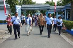 Berkeliling melihat kantor BP3 Ambon